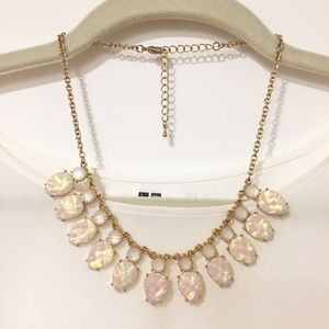 Opalescent Statement Necklace